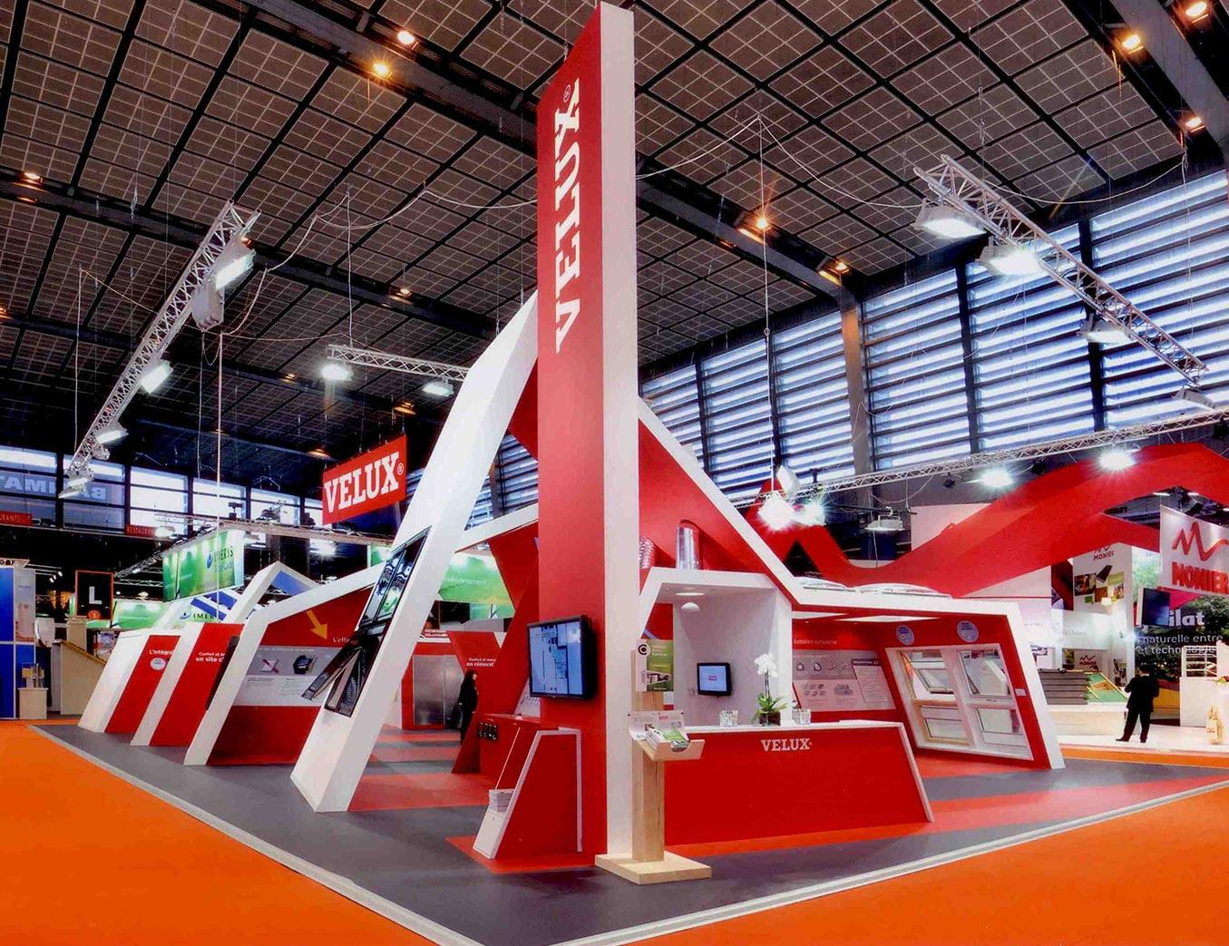 Velux alphonse tari design for Creation stand